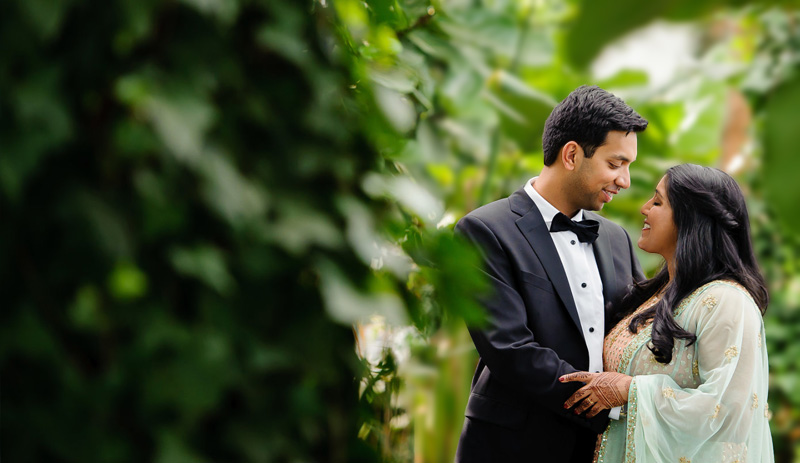Deepthi and Sujay | Photo by Peter Pawinski