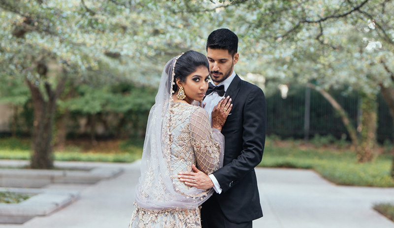 Hiba and Naveen | Photo by Le Cape