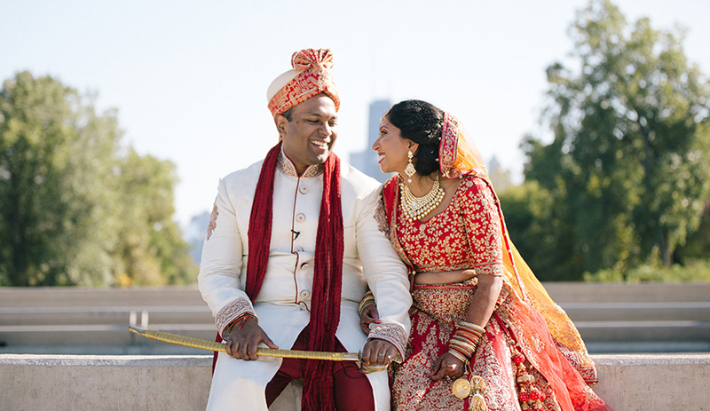 Shilpa and Ashok | Photo by Le Cape