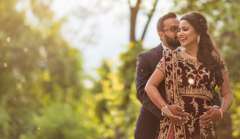 Sneha and Krunal | Photo by Sapan Ahuja